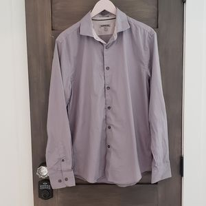 Mens EXPRESS Fitted button down top sz M